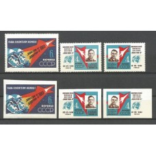 Stamps space Group flight into space