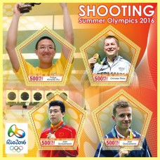 Sport Shooting at the 2016 Summer Olympics in Rio