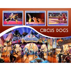 Circus dogs