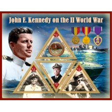 Great People John kennedy on the World War II