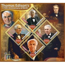 Great People 100th anniversary of the birth of Thomas Edison