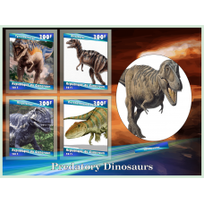 Fauna Predatory dinosaurs