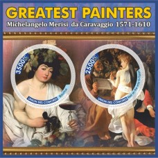 Postage stamps of art The greatest artists.