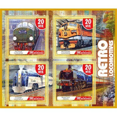 Transport Retro locomotives