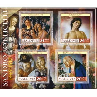 Art Sandro Botticelli Italian painter