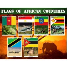 Coats of arms and flags Flags of the African continent