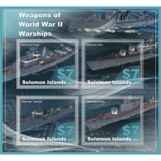 Weapons of World War II. Warships