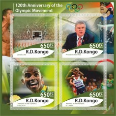 Sports 120th anniversary of the Olympic movement