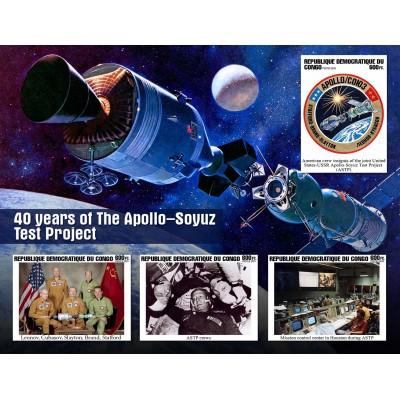 Space flight 40 years Soyuz - Apollo