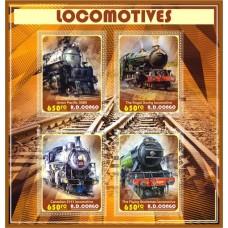 Transport vintage steam locomotives