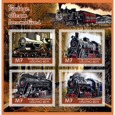 Transport Vintage steam locomotives