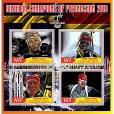 Sports Champions of PyeongChang 2018 Biathlon