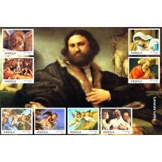 Art Painting by Lorenzo Lotto