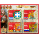 Coats of arms and flags