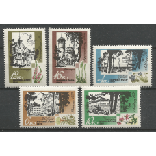 Series of stamps of the USSR Resorts of the Soviet Baltic States