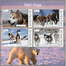 Fauna Sled dogs