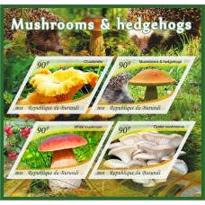 Fauna Mushrooms & Hedgehogs