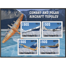 Transport Combat and polar aircraft Tupolev
