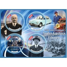 Transport 140th anniversary of Andre-Gustave Citroen