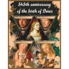 Art 545th anniversary of the birth of Durer