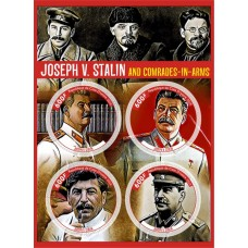 Great people Joseph Stalin and Vyacheslav Molotov