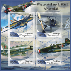 Weapons of World War II. Air combat