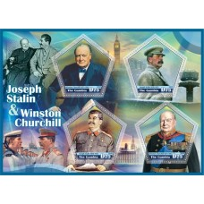 Great People Joseph Stalin and Winston Churchill