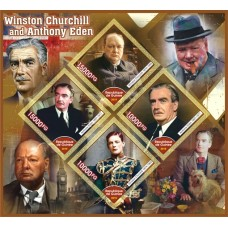 Great People Winston Churchill and Anthony Eden