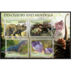 Fauna Dinosaurs and minerals