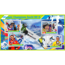 Sport  Olympic champions Sochi 2014 Freestyle