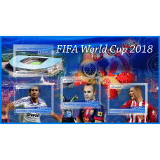 Postage stamps World Cup 2018.