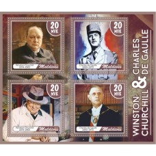 Great People Winston Churchill and Charles de Gaulle
