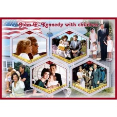 Great People John Kennedy with children