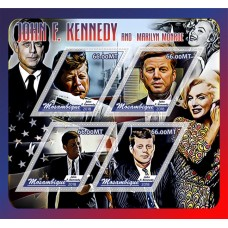 Great People John Kennedy and Marilyn Monroe