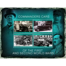 Transport Commanders cars of the first and second world wars