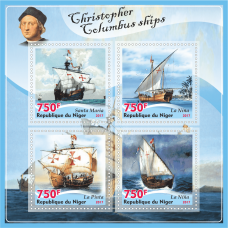 Collect a collection of postage stamps ships.