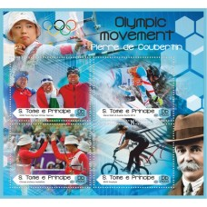 Sport Olympic movement Pierre de Coubertin