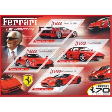 Transport 70th Anniversary Ferrari