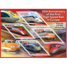 Transport 35th Anniversary of the first High Speed Rail in Europe