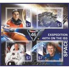 Space Expedition 46th on the ISS