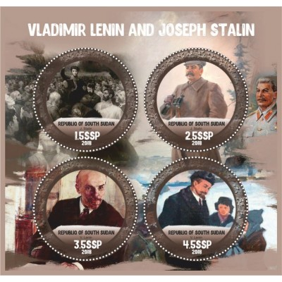 Great People Vladimir Lenin and Joseph Stalin