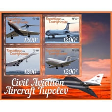 Transport Civil aviation Tupolev aircraft