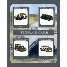 Postage stamps Cars