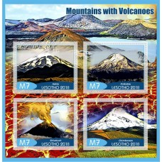 Mountains with Volcanoes