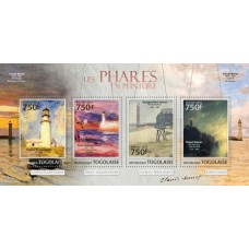 Art Lighthouses in painting